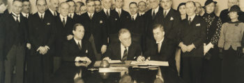 Roerich Peace Pact signed in Washington DC